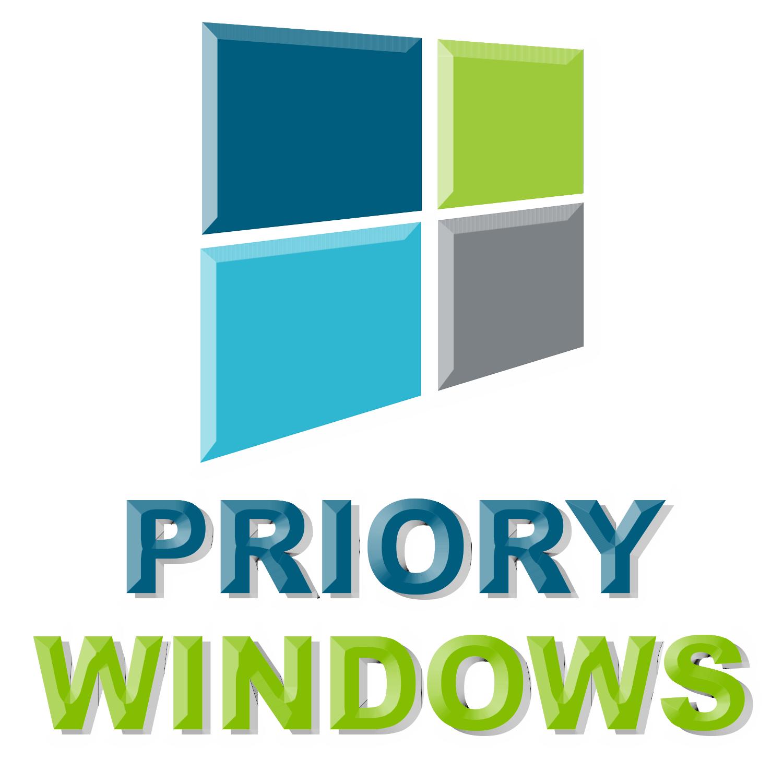 Priory Windows UPVC Windows and Doors Bridgend Logo